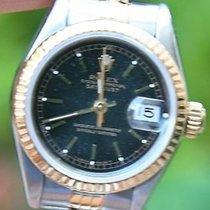 """Rolex Ladies 18k Gold Steel Datejust Watch """"r"""" 26mm"""