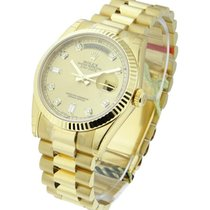 Rolex Unworn 118238 Mens President Day - Date in Yellow Gold...