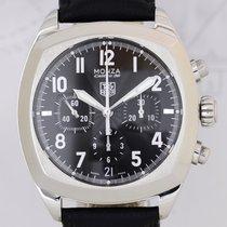 TAG Heuer Heuer Monza black dial Chronograph Calibre 36 El...