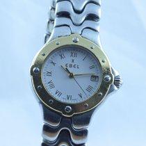 Ebel Sportwave Damen Uhr 25mm Stahl/750 Gold Klassische Uhr ...
