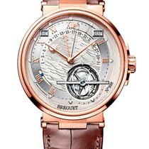 Breguet Brequet Marine 5887 18K Rose Gold Men's Watch