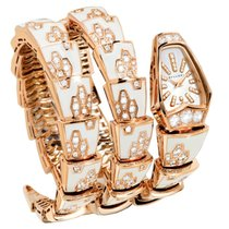 Bulgari Bvlgari Serpenti Jewelery Scaglie Rose Gold Diamonds...
