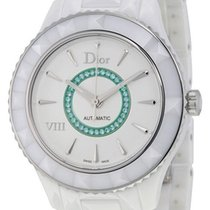 Dior VIII White Ceramic Womens Watch Limited Edition CD1245EEC001