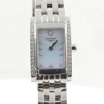 Longines Dolce Vita Damen Uhr Quartz Stahl/stahl 22mm Rar...