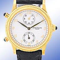 "Patek Philippe Lady's 18K Yellow Gold  Ref. #4864 ""Tra..."