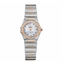 Omega 111.25.23.60.55.003 Constellation 95 in 2-Tone with...