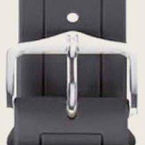 Hirsch Uhrenarmband Hevea grau L 40458830-2-18 18mm