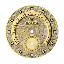 Rolex Yacht-Master 44mm Gold/Diamond Pavé Custom Dial