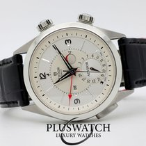 チュドール (Tudor) Heritage Advisor  Silver Dial 42mm Leather Strap...