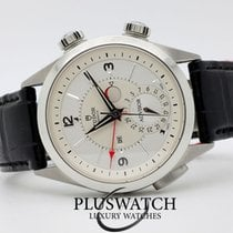 튜더 (Tudor) Heritage Advisor  Silver Dial 42mm Leather Strap...