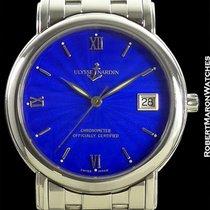 Ulysse Nardin San Marco Blue Enamel Dial Chronometer Steel