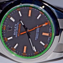 Rolex Oyster Perpetual Milgauss 116400GV Green Crystal