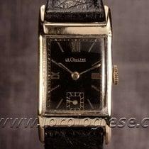 Jaeger-LeCoultre Tank Style 14kt. Gold Vintage Art-deco Watch...