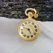 ZentRa Container Kleine Damen Taschenuhr Vergoldet | 334