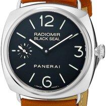 Panerai PAM00183 Radiomir Black Seal Acciaio Black Dial...