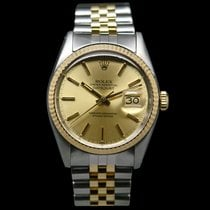 Rolex Datejust 16013 Steel Gold 14kt