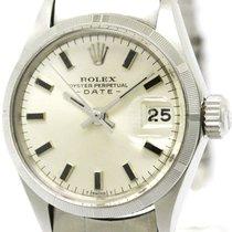 ロレックス (Rolex) Vintage Rolex Oyster Perpetual Date 6519 Steel...