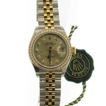 Rolex Lady-Datejust Gold Diamond