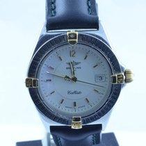 Breitling Callisto Quartz Herren Uhr 35mm Stahl/gold Schöner...