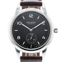NOMOS Automat Datum Dunkel 774 Watch with Leather Bracelet and...