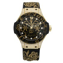Hublot Big Bang Broderie Yellow Gold Diamonds 41mm