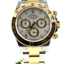 Rolex Daytona bicolor two tone white dial 116503