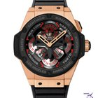 Hublot King Power Unico GMT Rose Gold And Ceramic
