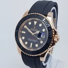 勞力士 (Rolex) YachtMaster 116655 Mens 40mm 18K Rose Gold Watch