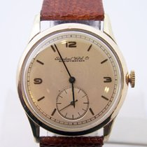 IWC Vintage 14k Gold IWC SHAFFHAUSEN Winding Watch c.1950s