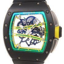 Richard Mille Yohan Blake Manual RM61-01 Ceramic Rubber...