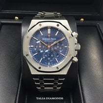 Audemars Piguet Royal Oak Chronograph 41mm BLUE DIAL 26320ST.O...
