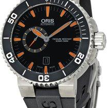 Oris Men's743 7673 4159-07 4 26 34EB Aquis The Seas Of...