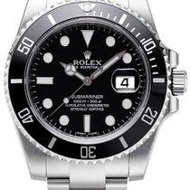 롤렉스 (Rolex) Submariner Black Dial Ceramic Bezel Steel 116610LN...