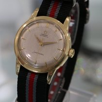 Omega Vintage Seamaster From 1954 14k Yellow Gold Watch Ref....