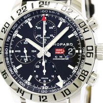 Chopard Polished Chopard Mille Miglia Chronograph Gmt Mens...