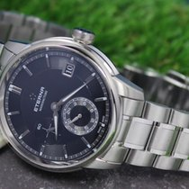 Eterna Adventic GMT Swiss Made Automatic Black Dial Men's...