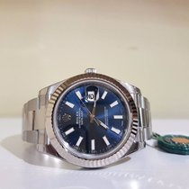 Rolex Datejust II blue index New - full set