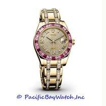 Rolex Datejust Pearlmaster 81348SSRDPM