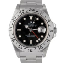 Rolex Explorer II Black Dial Ref: 16570 With Papers