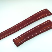Breitling Band 19mm Red Brown Calf Strap Ib19-27