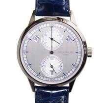 Patek Philippe Complications White Gold Silver Automatic...