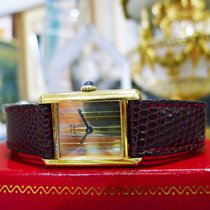 Cartier Must De Cartier Tank Vermeil Yellow Gold Tri-color...