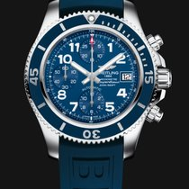 Breitling SuperOcean Chronograph 42mm Blue Dial G
