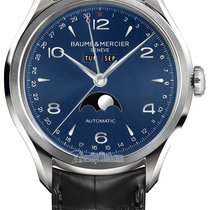 Baume & Mercier Clifton Complete Calendar Moonphase 43mm...