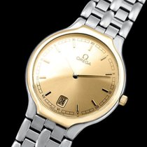 """Omega De Ville """"Symbol"""" Mens Quartz Dress Watch - SS..."""