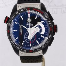 TAG Heuer Grand Carrera Calibre 36 black Linear System El...