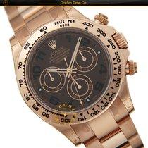 Rolex Cosmograph Daytona  Pink Gold Chocolate Dial 116505