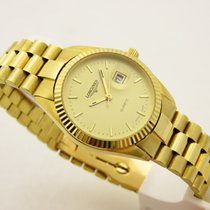 Longines lady oro 18 kt 750 braccialato 30 mm