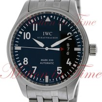 IWC Pilot's Mark XVII, Black Dial - Stainless Steel on...