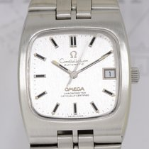 Omega Constellation Automatic Rectangular Vintage TV rounded...